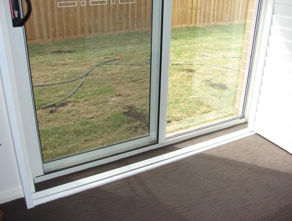 bi fold shutters for sliding glass external doorway - DSC05438