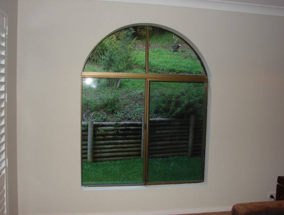 custom made arch shape window shutters - 050413 003