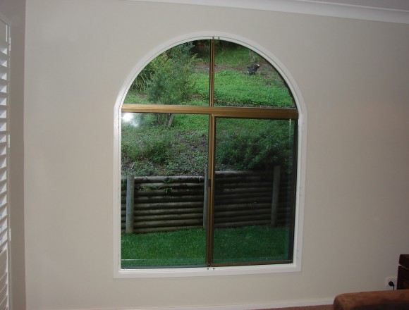custom made arch shape window shutters - 050413 004