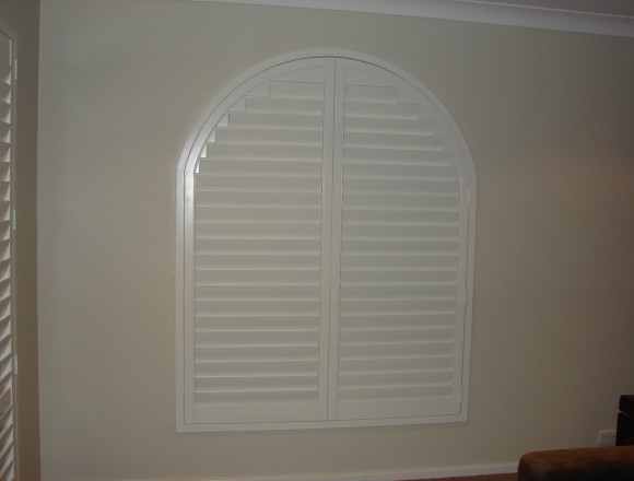 custom made arch shape window shutters - 050413 005