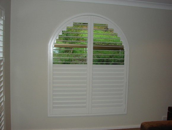 custom made arch shape window shutters - 050413 006