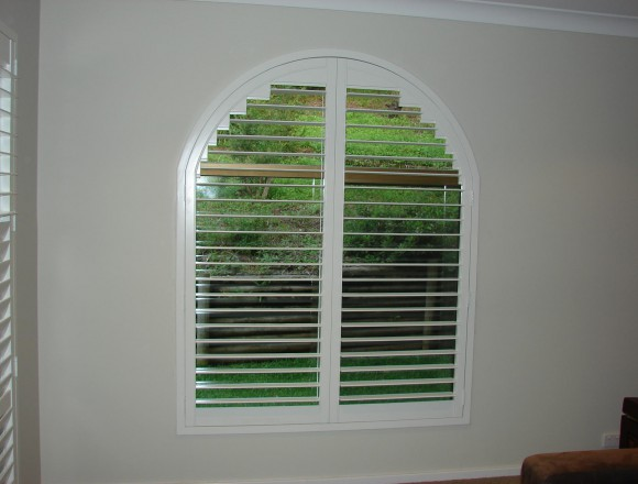 custom made arch shape window shutters - 050413 007