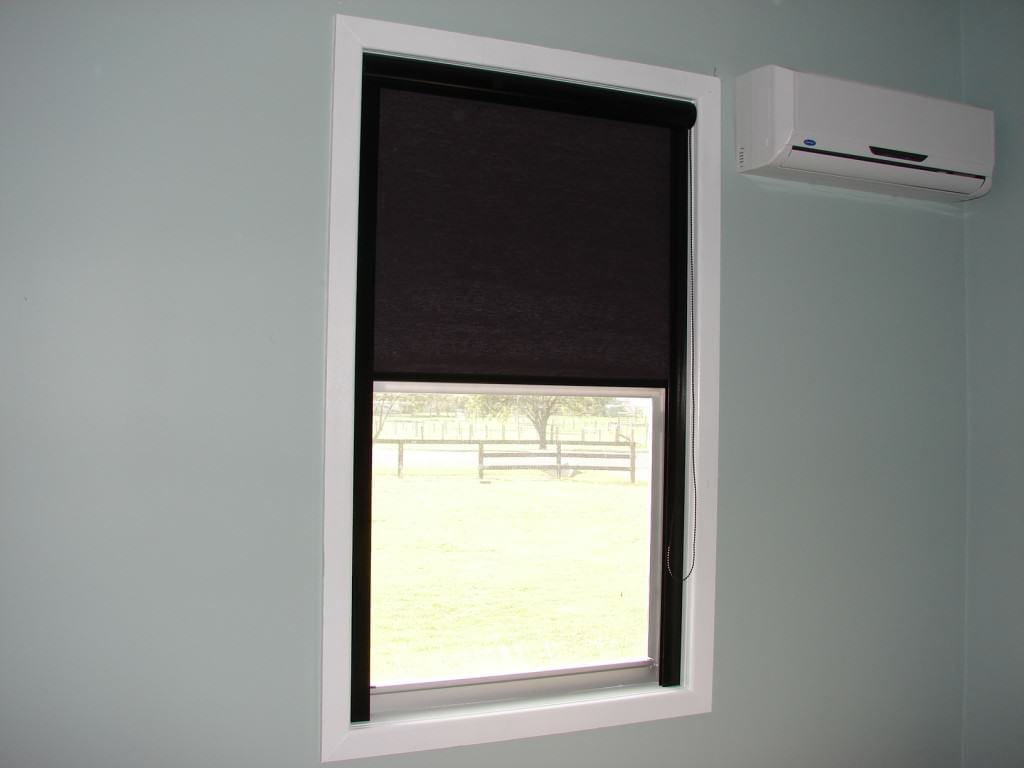 Trouble free and quality roller blinds the shutter guy Motorized blackout shades with side channels