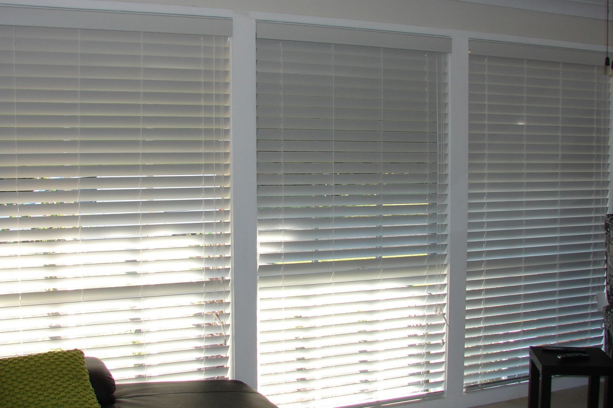 venetian blinds for three front house windows - DSC05794